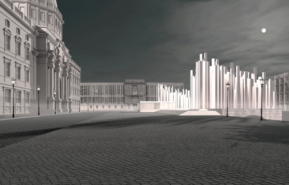 freiheits und einheitsdenkmal berlin roland unterbusch architekt rostock. Black Bedroom Furniture Sets. Home Design Ideas